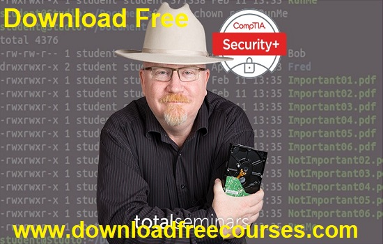 TOTAL: CompTIA Security+ Certification (SY0-501). Free Download