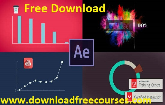 After Effects – Motion Graphics & Data Visualization Free Tutorials
